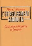 L'establishment canadien ceux qui détiennent le pouvoir