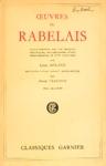 Oeuvres de Rabelais - Tome II